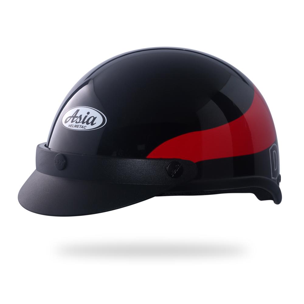 Asia MT 105 3M-đen viền đỏ