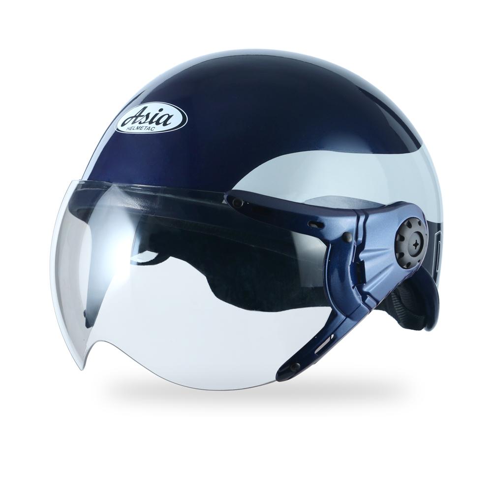 Asia MT 105 3MK8-xanh mực viền trắng bóng