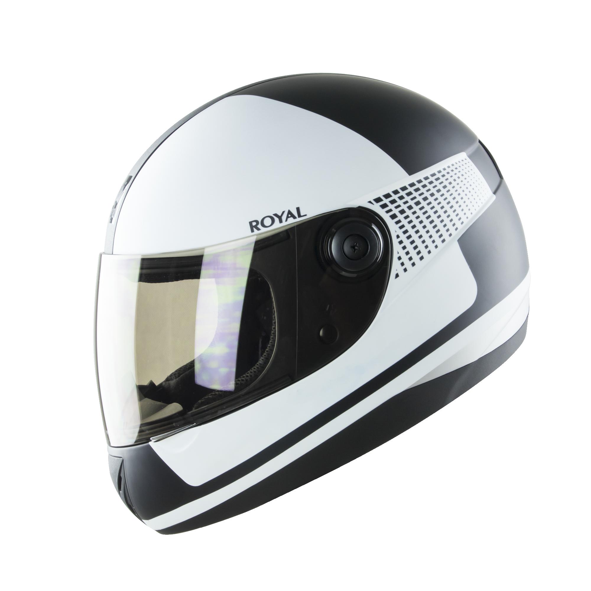 Royal M02 V.1 đen trắng mờ