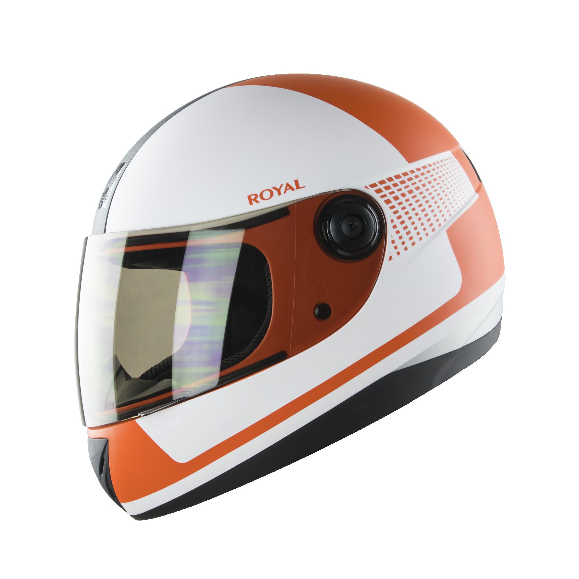 Royal M02 V.1 trắng cam