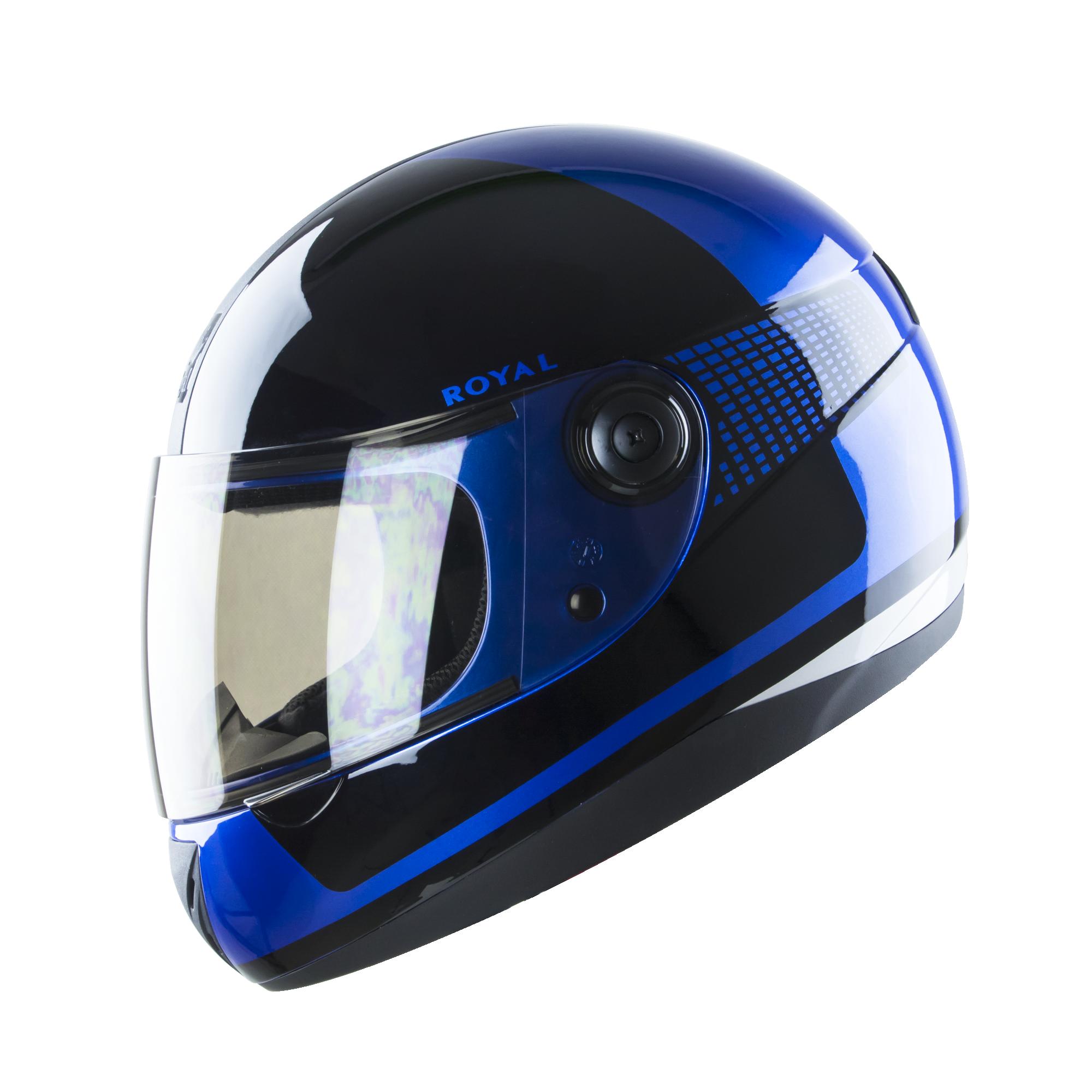 Royal M02 V.1 xanh đen bóng