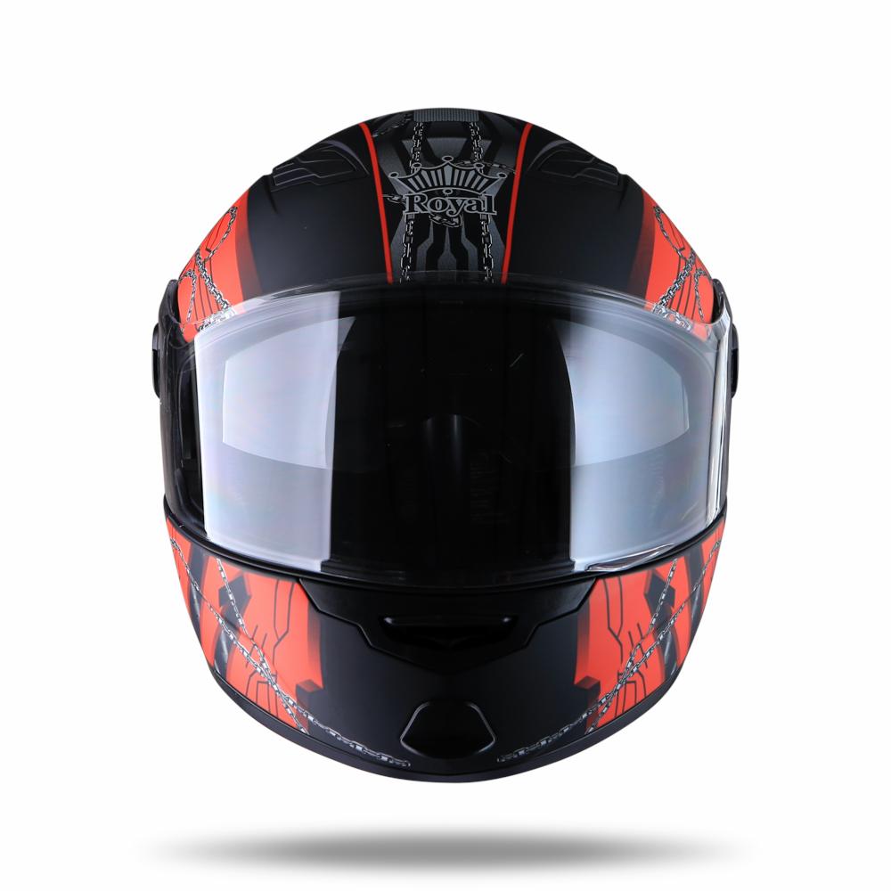 Royal M08 đen tem xích đỏ