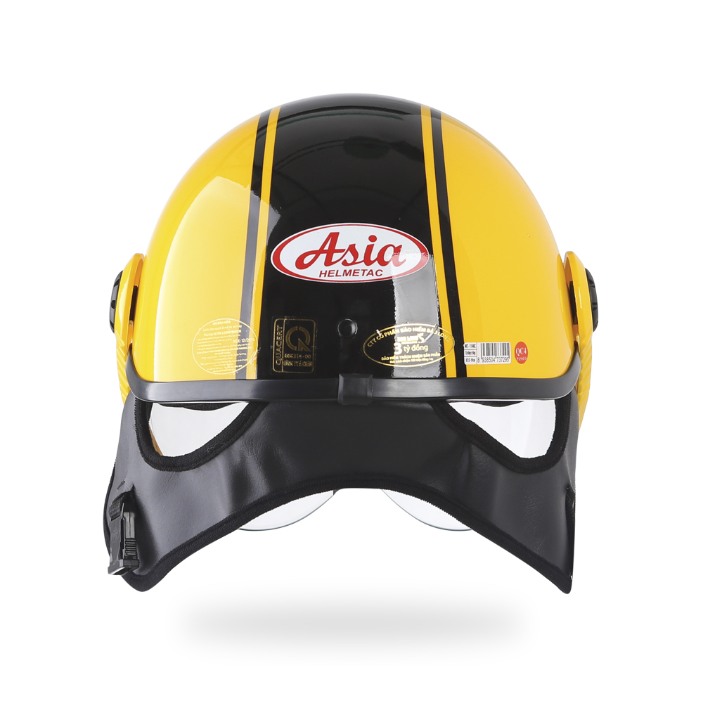 Asia MT 114KC - vàng viền đen bóng