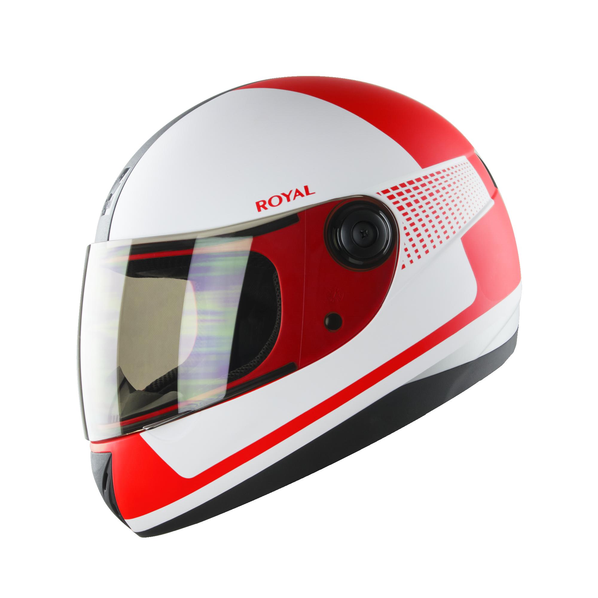 Royal M02 V.1 trắng đỏ