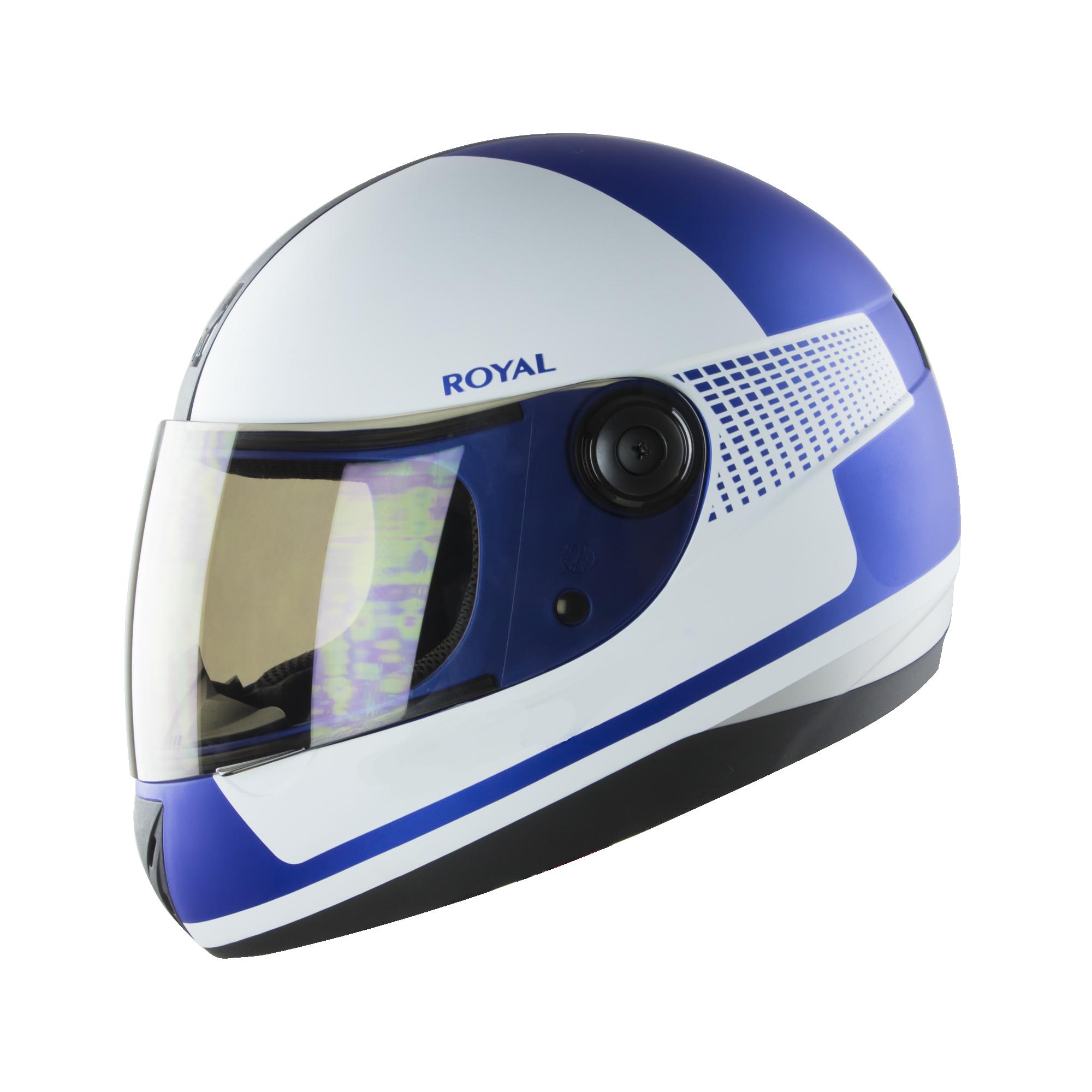 Royal M02 V.1 trắng xanh bóng
