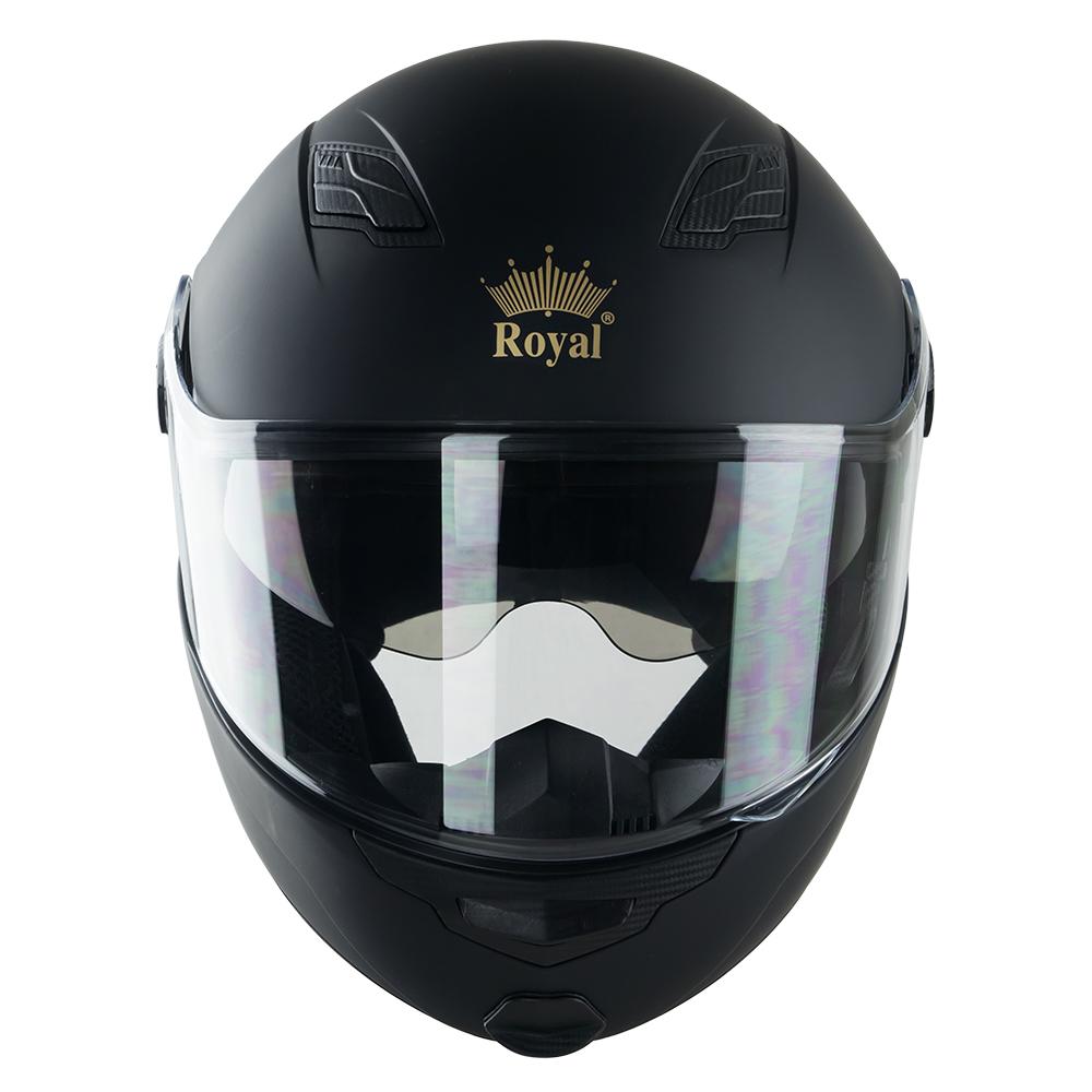 Royal M08 trơn đen