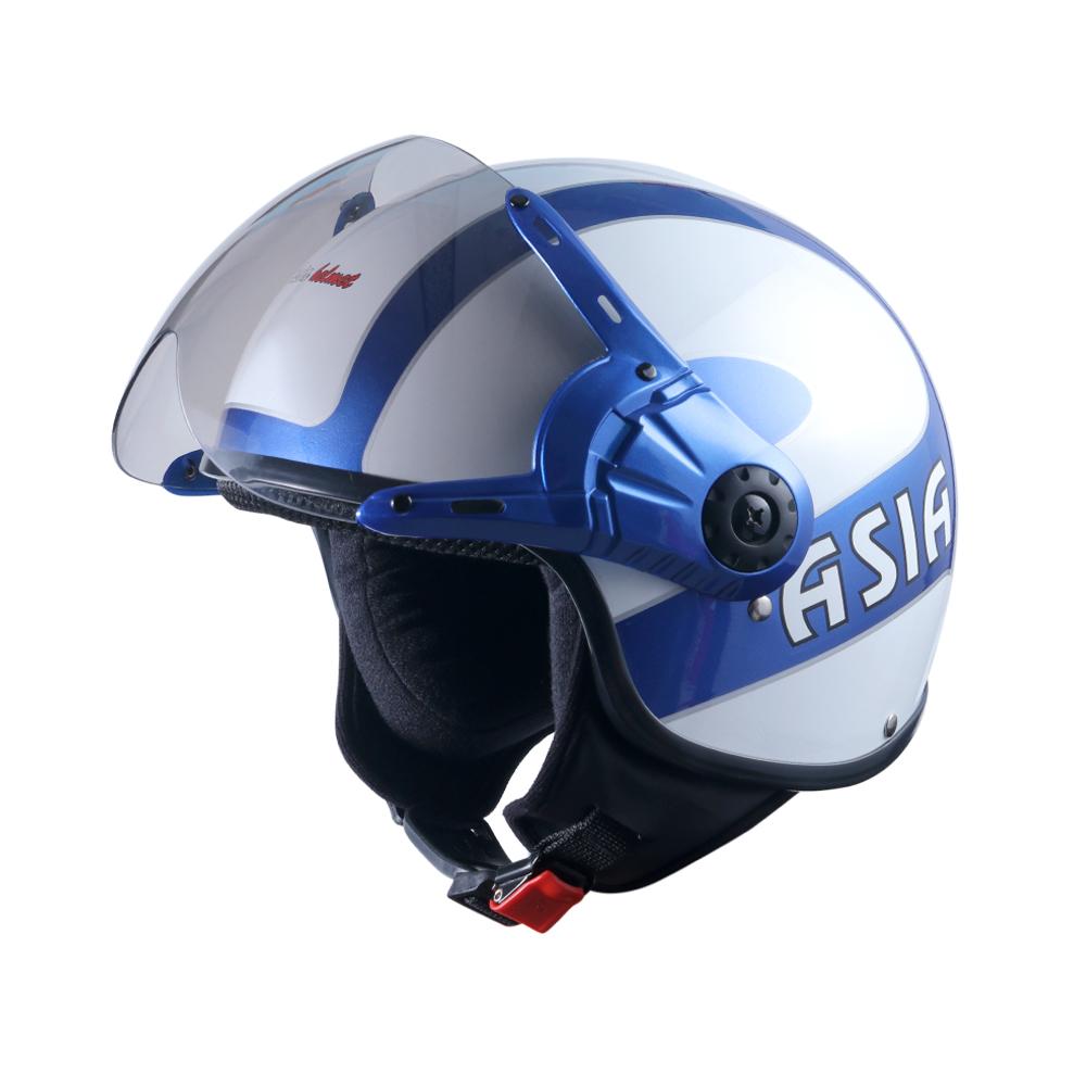 Asia MT 125 xanh mực - trắng bóng