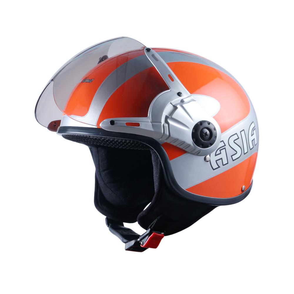 Asia MT 125 bạc - cam bóng